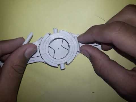 How To Make Ben 10 Alien Force Omnitrix/diy Ben 10 Omnitrix