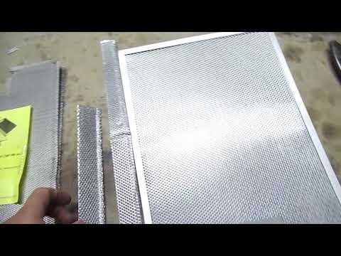 Замена сетки жирового фильтра кухонной вытяжки