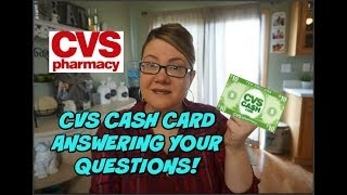 CVS CASH CARD | Answering your QUESTIONS!