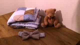 Набор в кроватку: плед-конверт, бортики, простынь на резинке. ОБЗОР