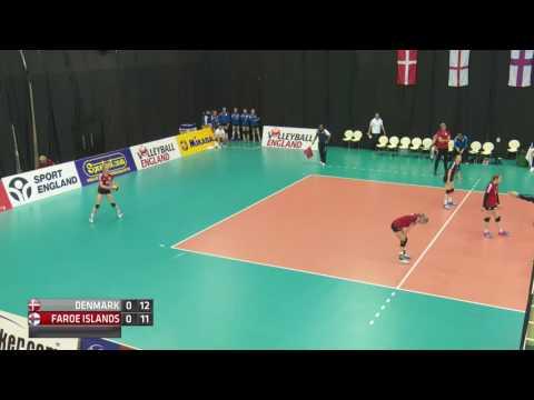 Day 1 Girls Court 1 Denmark v Faroe Islands