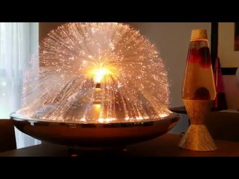 Vintage Fantasia Solar 1 Fiber Optic Lamp