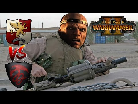FAITH, STEEL & SOME ANGRY BALD DUDES   Empire vs Vampire Counts - Total War Warhammer 2  
