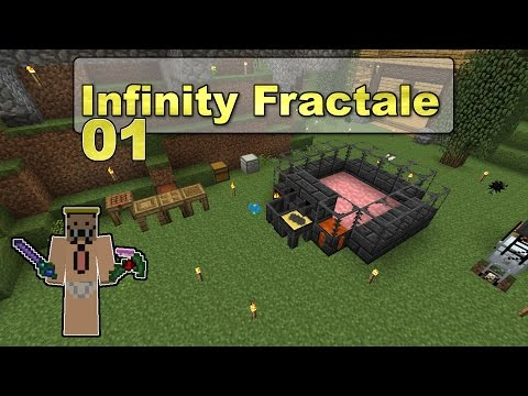 FTB Infinity - Ep 01 - Intro à Tinker's Construct ! (Couper