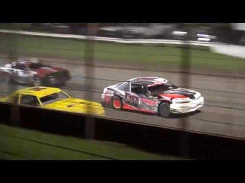 IMCA Stock Car feature West Liberty Raceway 5/14/16