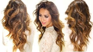 Repeat youtube video ★How to: MY CARAMEL HAIR COLOR - Drugstore! Ombre Hairstyles