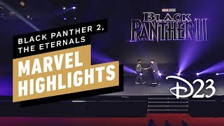 Marvel Studios D23 Panel Highlights (Black Panther 2, The Eternals)