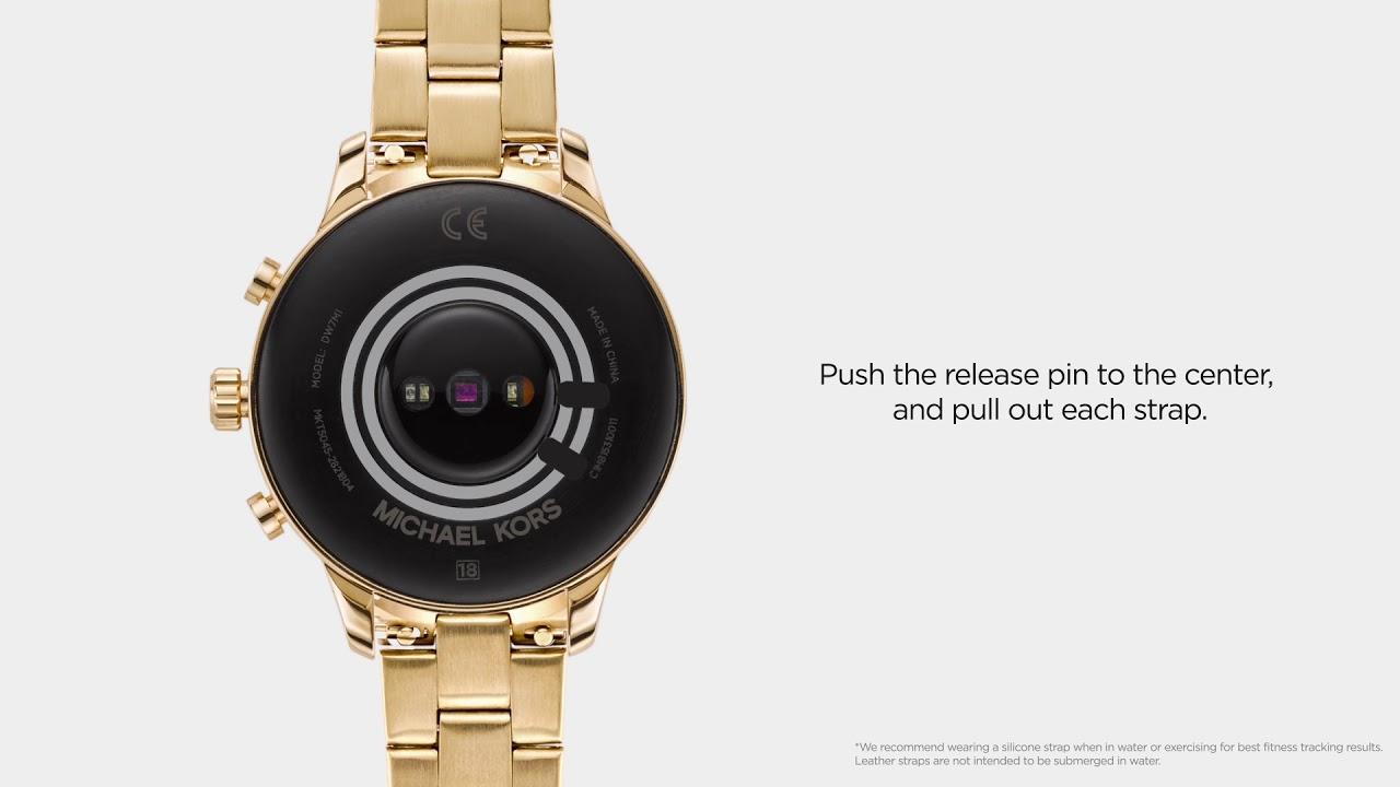 7f643b394573 Michael Kors Access Runway Smartwatch