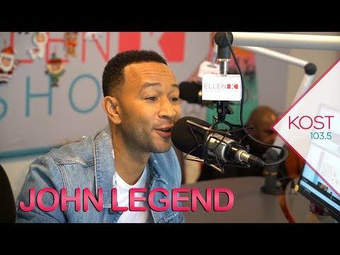 Ellen K - John Legend Admits, He Still Really Wants To Host Saturday Night Live!