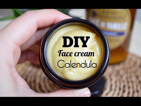 How to: DIY Face Cream with calendula infusion | НСС Крем за лице с масло от невен