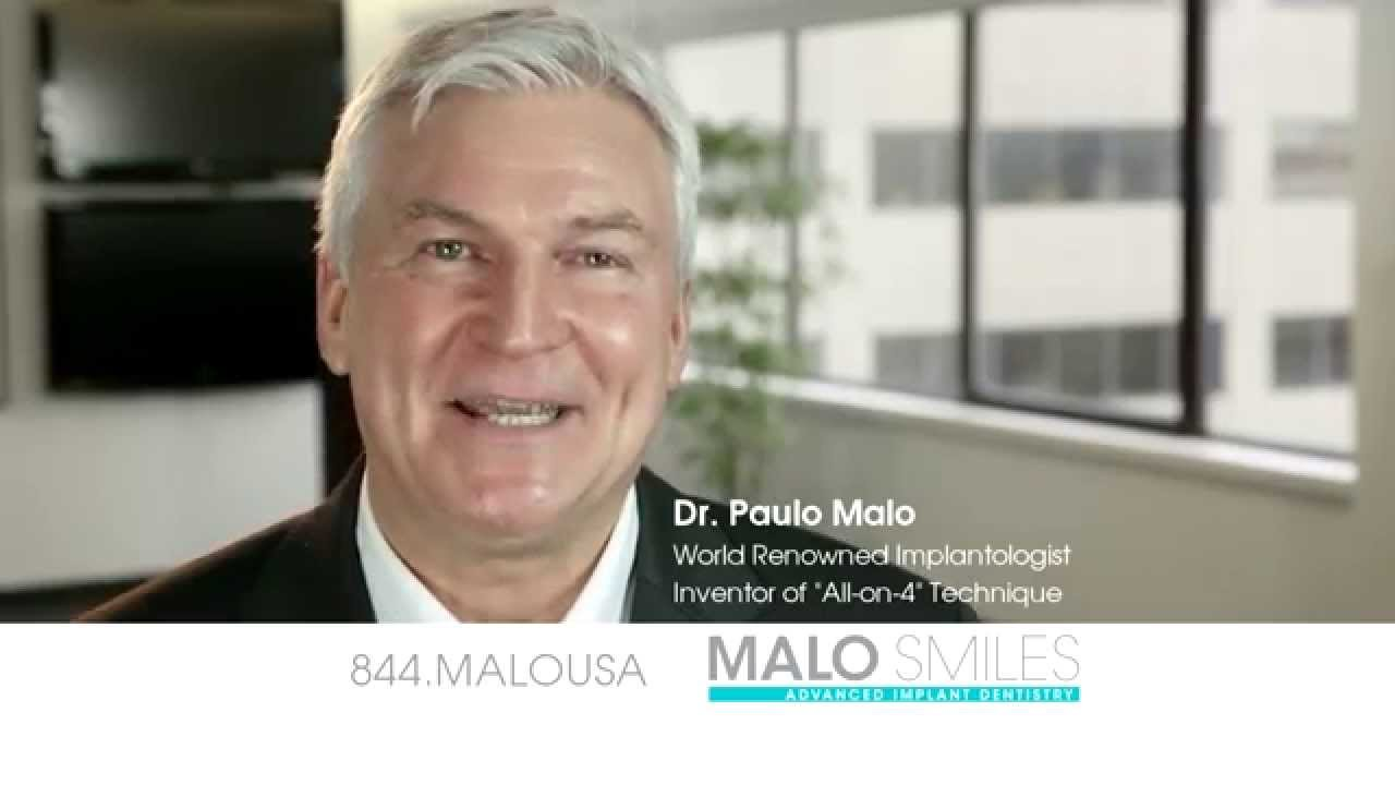 MALO SMILES Advanced Implant Dentistry TV Commercial - YouTube