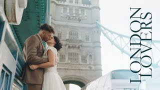 LONDON LOVERS | A Wedding Fashion Shoot shot on the Panasonic LUMIX S1 (S Pro 24-70mm, V-Log)