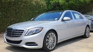 2017 Mercedes Maybach S600 Full Review / Exhaust / Start Up