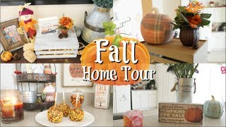 FALL DECOR HOME TOUR 2018