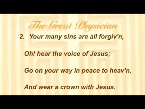 The Great Physician (Baptist Hymnal #188)