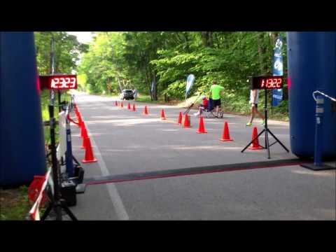 Glen Arbor Solstice Half Marathon Finish