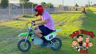 Damian's New Bike | D&D Family Vlogs