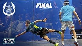 Squash: Mo.ElShorbagy v Rodriguez - Allam British Open 2018 - Final