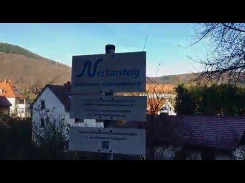 Neckarsteig Etappe 1. Von Heidelberg bis Neckargemünd.