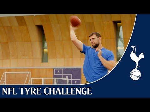 Andrew Luck – NFL Tyre Challenge