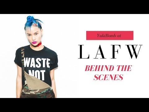 LAFW - LA Fashion Week Spring 2017 - Behind the Scenes