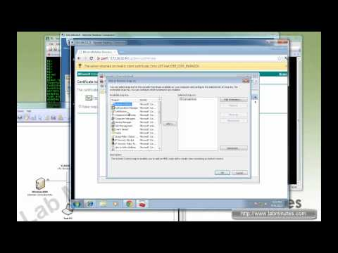 LabMinutes#SEC0009 - Windows 2008 Enterprise CA NDES Installation with SCEP on Cisco Router