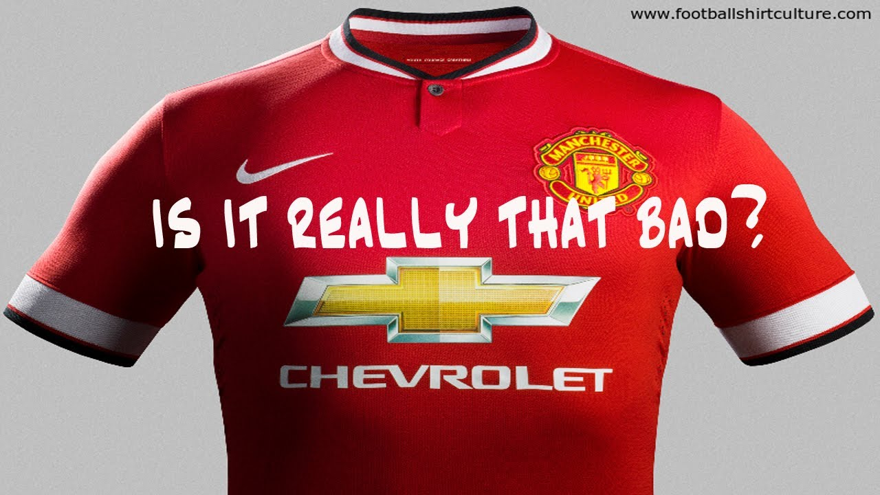 half off ce580 13c0e Manchester United 2014/15 Kit! Is It Really That Bad?