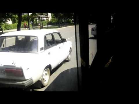 Горячий Ключ поездка на автобусе Hyundai County LWB (ТагАЗ) В 942 ТМ 93 Маршрут № 6 Горячий Ключ
