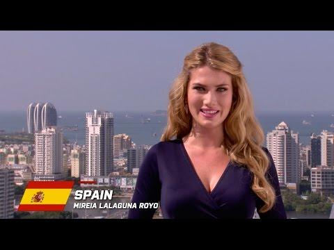 MW2015 : SPAIN, Mireia Lalaguna Royo  - Contestant Profile