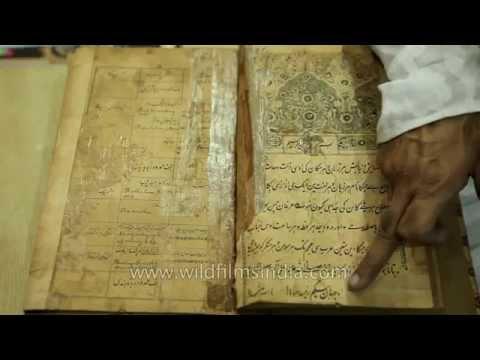 130 year old dictionary at Hazrat Shah Waliullah Public Library