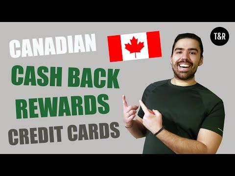 The Best Canadian Cash Back Rewards Credit Cards | Get 5% Cash Back Money | Get 100's Back In CASH