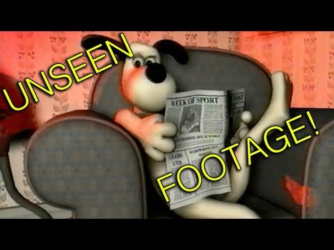 Wallace & Gromit - never seen before proof of concept CGI animation