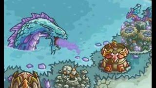 Kingdom Rush Origins - The Crystal Lake - 3 Stars NLL Walkthrough