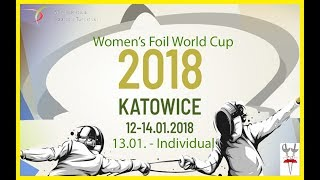 2018 Women's Foil World Cup Katowice Individual Finals