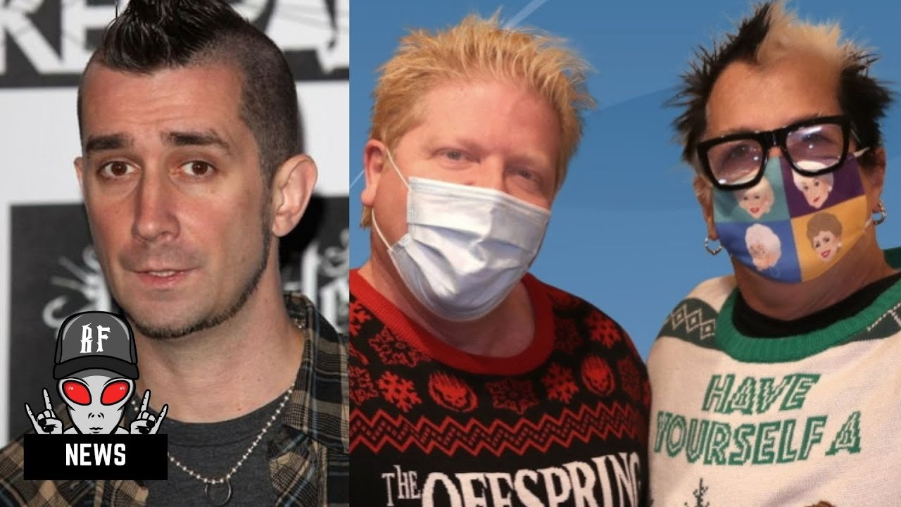 The Offspring Drummer Says The Band Fired Him Because He Can't Get Vaccinated