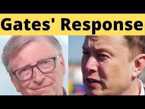 Bill Gates Talks About Elon Musk Saying He Built Great Electric Cars