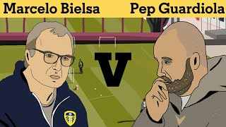 Pep Guardiola vs Marcelo Bielsa: A Tactical Analysis