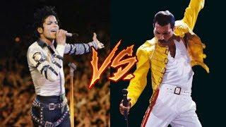 Michael Jackson Vs. Queen (Freddie Mercury) (Greatest Hits, Live Performances)