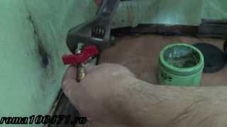 Орнату шарлы кран ретінде наматывать зығыр