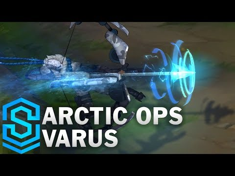Arctic Ops Varus (2018) Skin Spotlight - League of Legends