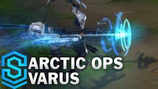 Arctic Ops Varus (2018) Skin Spotlight - League of Legends
