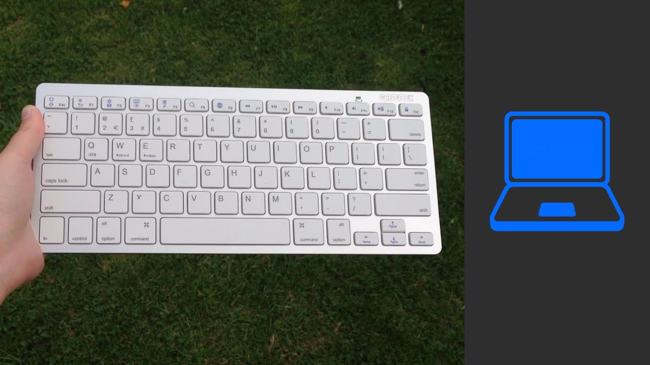 superior quality wholesale online factory authentic Ultra Slim Caseflex Wireless Bluetooth keyboard | Review - YouTube