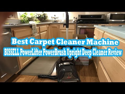 Best Carpet Cleaner Machine 2017  BISSELL PowerLifter PowerBrush Upright Deep Cleaner
