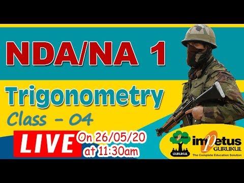 NDA/NA  | Trigonometry Class - 4 Concept Building Class