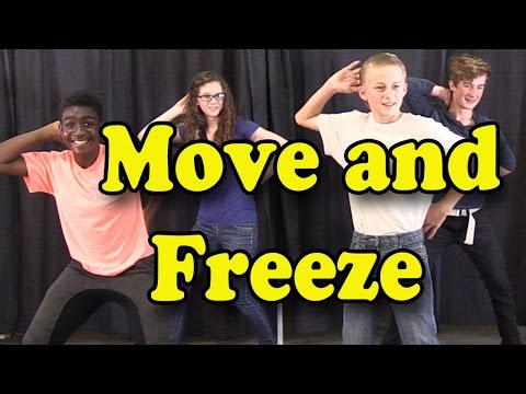 Brain Breaks  Action Songs for Children  Move and Freeze  Kids Songs  The Learning Station