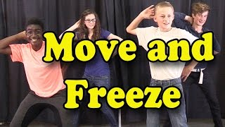 Brain Breaks - Action Songs for Children - Move and Freeze - Kids Songs by The Learning Station thumbnail