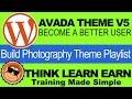 Avada Theme V5 Tutorials How To Edit Demo Content Playlist
