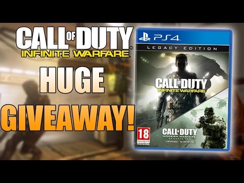 Call Of Duty Infinite Warfare Legacy Edition Giveaway! - WITH Modern Warfare Remastered (PS4)