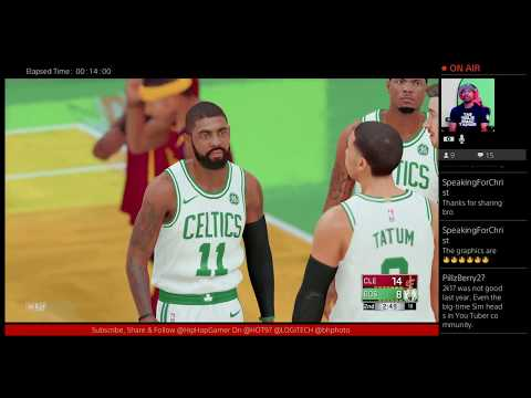 NBA 2K18 Lebron James Vs Kyrie Irving: 2K Sports Are Unstoppable