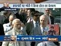 PM Modi and Israel PM Netanyahu hold roadshow in Ahmedabad